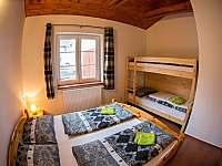 Apartmán č.2 ložnice - k pronájmu Lipno nad Vltavou
