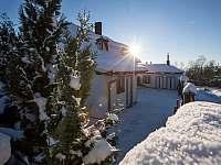 Zima - pronájem apartmánu Lipno nad Vltavou