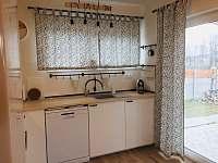 Kuchyňská linka - pronájem rekreačního domu Horní Planá