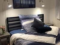 Ložnice v patře: Modrá - rekreační dům ubytování Horní Planá