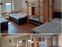 Pokoj č. 4 - 8.lůžek - chata k pronajmutí Nové Hutě