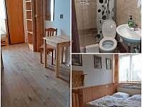 Pokoj číslo 1 - 5.lůžek vlastní wc a sprcha - Nové Hutě