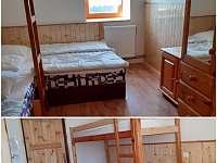 Pokoj číslo 2 - 4.lůžka - chata k pronájmu Nové Hutě