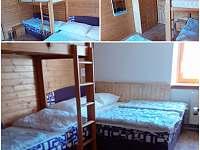 Pokoj číslo 3- 4.lůžka - Nové Hutě