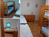 Pokoj číslo 8 - 4.lůžka - Nové Hutě