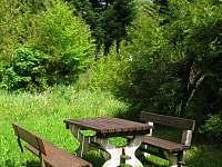 venkovní posezení - Železná Ruda