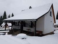 Chata terasa zima