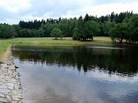 Přírodní koupaliště v Rohanově - chalupa k pronajmutí Lhota nad Rohanovem