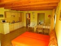 Apartmán2+kk- větší- 42 m2 - pronájem rekreačního domu Železná Ruda