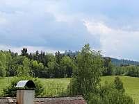 apartmán Baba Jaga - výhled z terasy - Dolní Dvorce