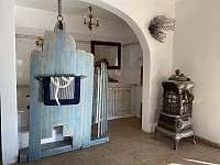 Koupelna Modrý apartmán - k pronajmutí Dolní Dvorce