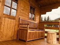 Terasa - chata ubytování Borová Lada