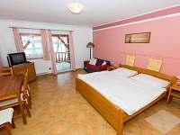 Apartmán č.2  obývací pokoj