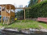 Dětské hriště - chata ubytování Horní Planá - Karlovy Dvory