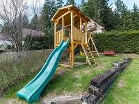 Dětské hriště - chata k pronajmutí Horní Planá - Karlovy Dvory