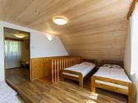 Ložnice - pronájem chaty Horní Planá - Karlovy Dvory