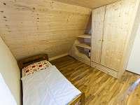 Ložnice č.2 - chata k pronájmu Horní Planá - Karlovy Dvory