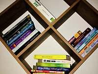 Knihovna - chalupa k pronájmu Hůrka