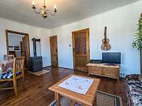 Obývák - chata ubytování Přední Výtoň
