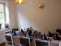 Kuchyně - 1.pohled - apartmán k pronájmu Horní Planá