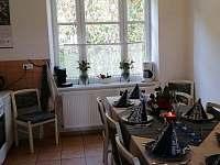 Kuchyně - 2.pohled - apartmán ubytování Horní Planá