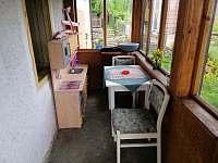 Veranda s dětskou kuchyňkou - Horní Planá