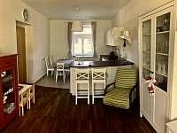 Kuchyně - apartmán k pronajmutí Kvilda 126