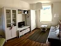 Obývací pokoj - apartmán ubytování Kvilda 126