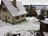 Zimní dovolená v jižních Čechách - aktuální foto 12/2017