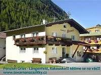 Levné ubytování na Šumavě Vila na horách - Gries - Rakousko