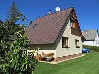 Prostor před chatou ohraničený živým plotem - Lipno nad Vltavou - Kobylnice