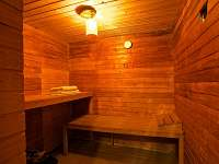 sauna - chalupa k pronajmutí Bílenice