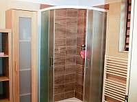 Koupelna - sprchový kout - chalupa k pronájmu Opolenec