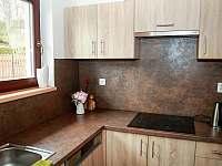 Kuchyňský kout - chalupa ubytování Opolenec