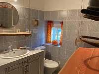 koupelna Chalupa Trnov - pronájem Kašperské Hory - Trnov