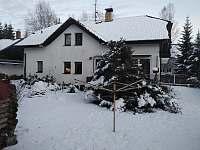 Chalupa zima zahrada - ubytování Stožec