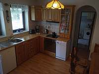 Kuchyň - pronájem chalupy Stožec
