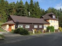 Chata ubytování v obci Hrabice
