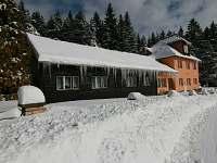 Chata Javorina zimní