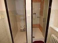 Koupelna apartmán 1. patro - chata k pronájmu Javorník