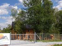 Celý areálje oplocený - apartmán ubytování Horní Planá - Hůrka