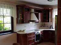 Kuchyně - pronájem chalupy Masákova Lhota