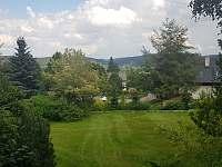 Pokoj č. 6 výhled z balkonu - Masákova Lhota