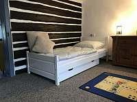ložnice 2 - roubenka k pronájmu Dešenice