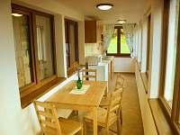 apartmán č. 1, kuchyň - chata k pronájmu Horní Planá
