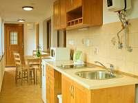 apartmán č. 1, kuchyň - chata k pronajmutí Horní Planá