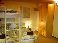 apartmán č. 1, pokoj pro tři - chata ubytování Horní Planá