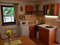 apartmán č. 2, kuchyň - chata ubytování Horní Planá