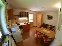 apartmán č. 2, kuchyň - chata k pronájmu Horní Planá