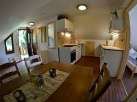 apartmán č. 3, kuchyň - pronájem chaty Horní Planá